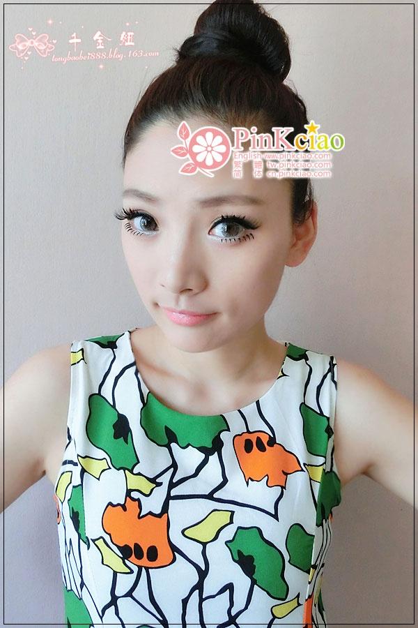 千金妞分享 - hyper 4 tone pinky 雪湖影灰
