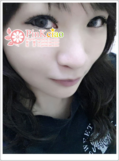 林琳分享 – pinky color 糖果子灰 magic magic假睫毛-C01 自然微混血