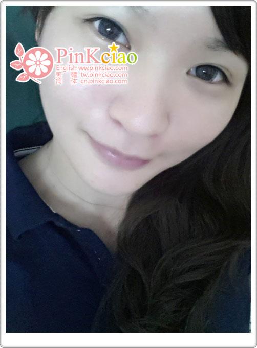林琳分享 - pinky color 糖果子灰 自然微混血