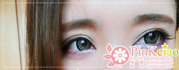 七七酱分享 - Cinderella 灰姑娘灰 混血靓女孩眼妆