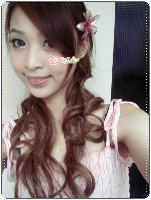 兔儿分享 – 日本杂志大推小恶魔御用长发大卷马尾抽绳式 ♡假发界中的LV♡