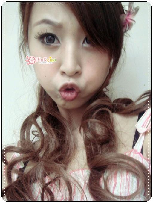 兔儿分享 ♡益若翼代言Angel Color芝麻灰♡ 日本杂志大推小恶魔御用长发大卷马尾抽绳式 - 假发界中的LV