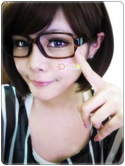 俏丽美少女桂纶镁修饰脸型人气NO.1 neo巨目紫