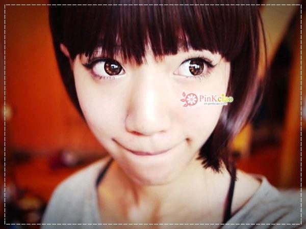 芷凌分享 – neo巨目黑 可可爱美人目灰 可可爱美人目棕 hanako全头短假发