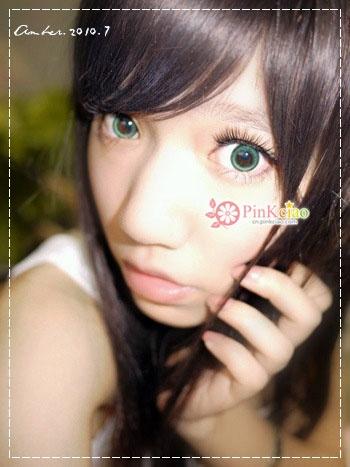 韩国GEO美瞳 OL-103冰凝绿