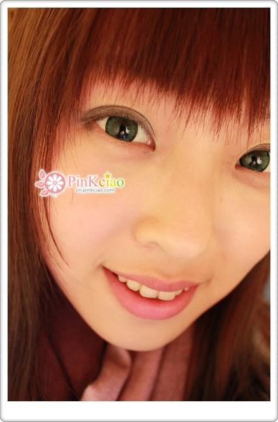 小堡分享 – geo蜜糖绿 geo幻彩三色绿 外国小孩的眼睛