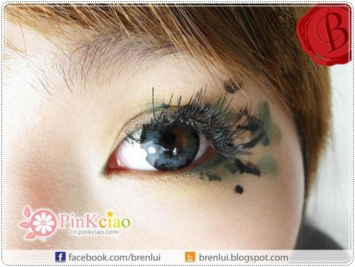 香港大佬B分享Ⅱ- 日本hanako丸子头-包包头 华丽系列假睫毛 冒险少女发型迷彩妆