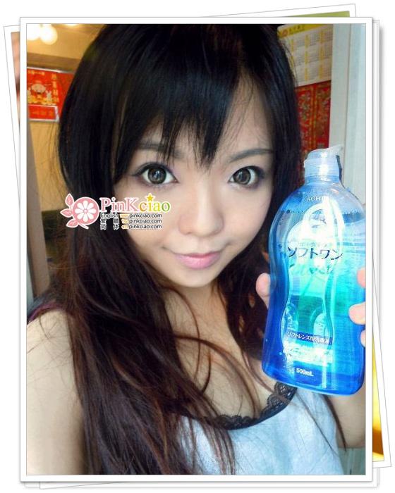 MansyChan分享 - 乐敦Rohto C3隐形眼镜护理液 乐敦Rohto C3眼药水 消除眼部的乾澀